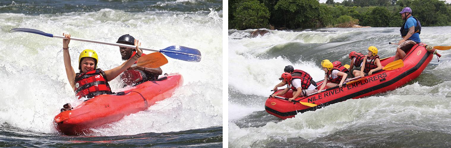 Grade 5 Tandem Kayaking and Rafting