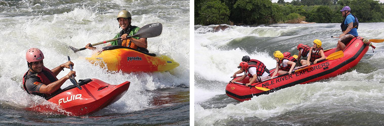 Kayaking and Rafting Combo