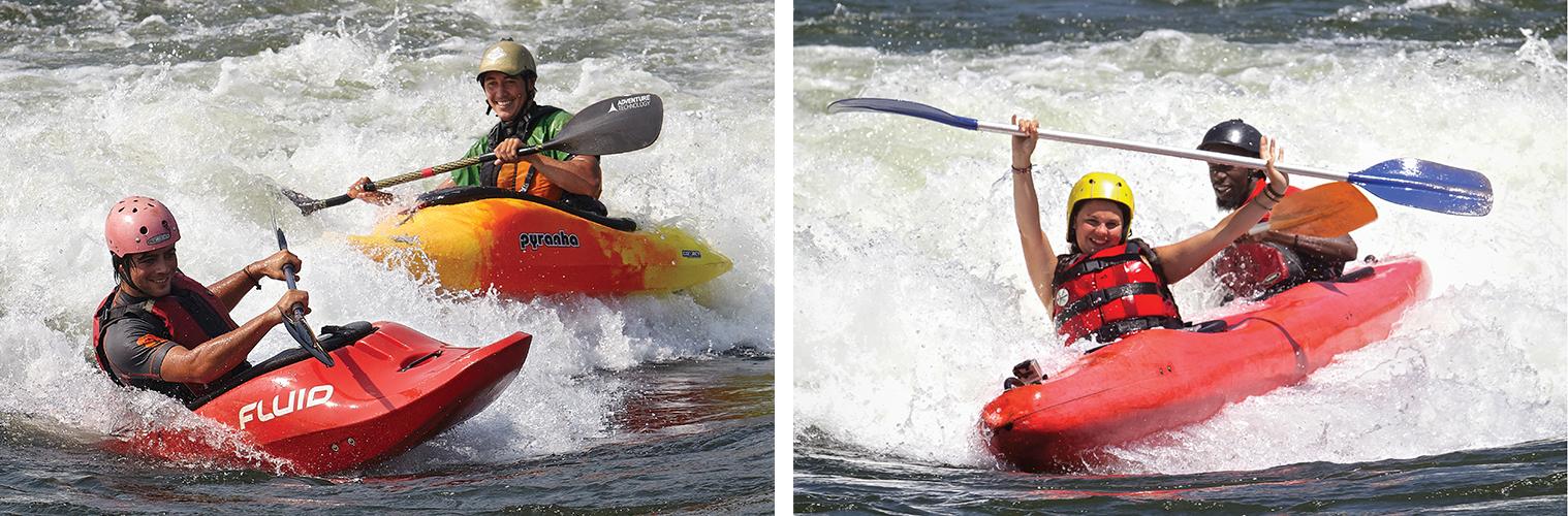 White Water Kayaking and Grade 5 Tandem Kayaking