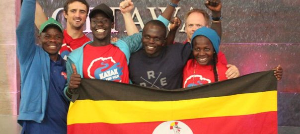 Uganda Freestyle Kayak Team