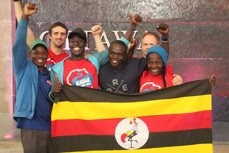 Uganda Freestyle Kayak Team